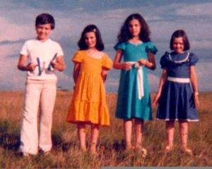 Marcelo, Magda, eu e Beti