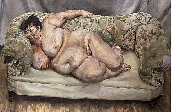Lucian Freud: Benefits Supervisor Sleeping (1995)