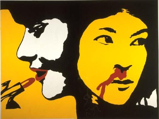 Poster by Cuban artist José Gómez Fresquet (Frémez), circa 1970. Image: cwluherstory.com